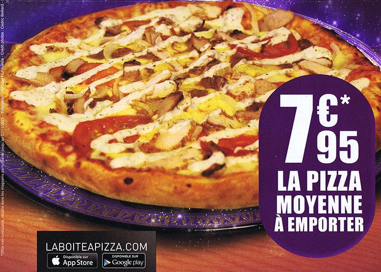 La boite a pizza brive - La boite a pizza perigueux ...